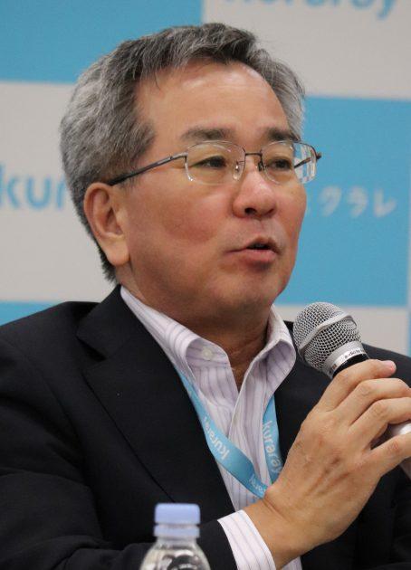 タイ新工場への期待を述べる伊藤社長