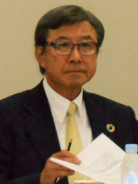 会長に選任された日化協の淡輪敏会長