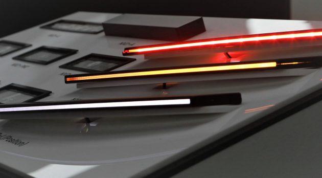 自動車用超スリムライン照明 「ネックスライド-L」