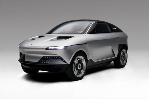 走るコンセプトカー「アクシー」
