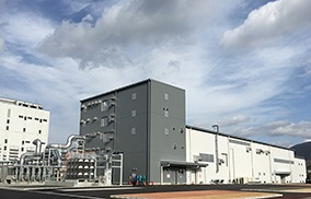 ゼノマックスジャパンの本社工場