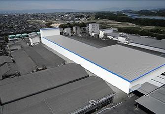 犬山工場に新設するOPP生産設備(イメージ)