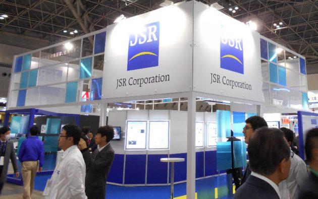 JSRの半導体ブース