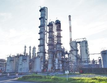 三井化学市原工場のフェノールプラント 文中