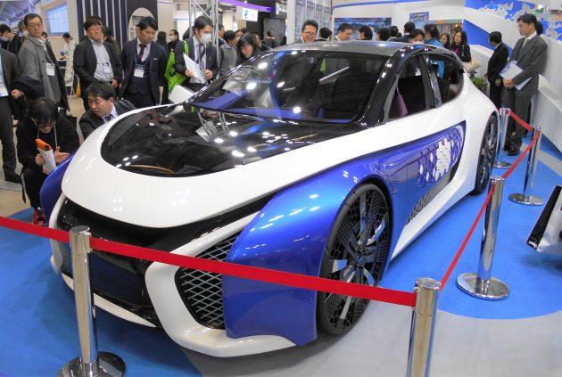 東洋紡が初出展したコンセプトカー