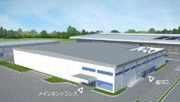 新工場完成予想図