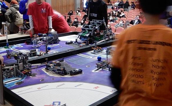 ロボット競技の様子