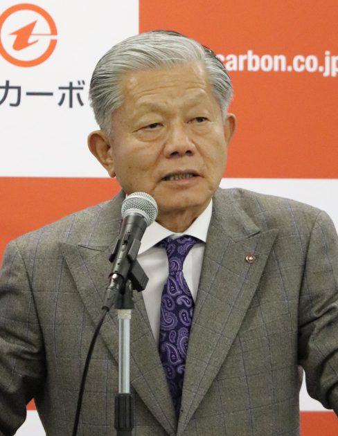 新中計を発表する長坂社長