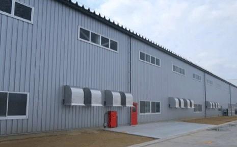 高排水システム75サイズ施工物件(タフグレー色)