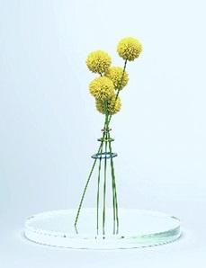 スタビオで製作した花器