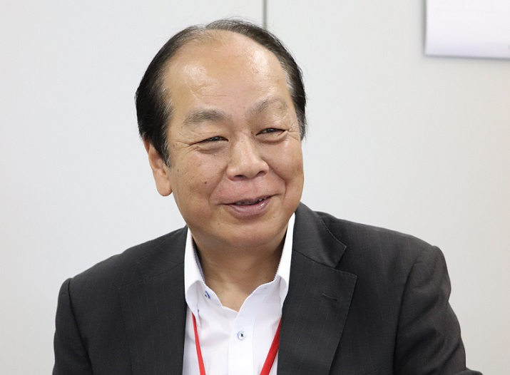 PSジャパン佐藤社長TOP