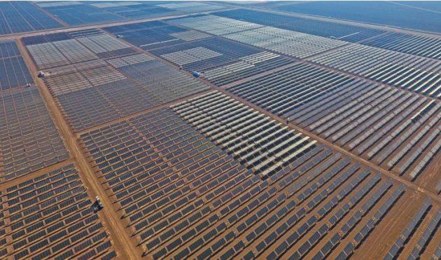Solar Frontier Americas が2017年に完成させたメガソーラー発電所