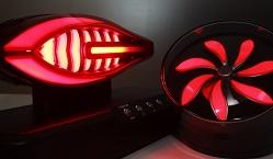 「ネックスライド‐HD」を用いたランプ試作品