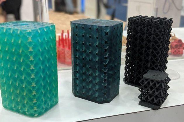 3Dプリンターによる成形例