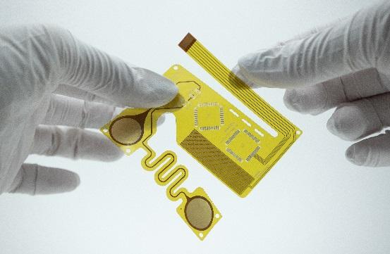 インクジェット印刷で製造されたFPC(エレファンテック提供)