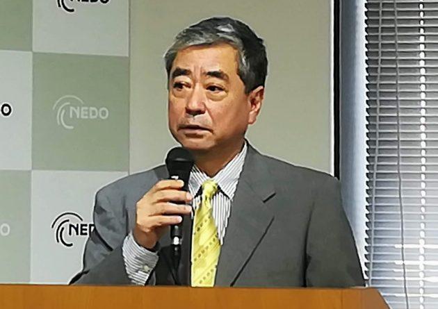 NEDOの宮本プロジェクトマネージャー