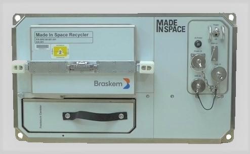 ISSで実証運用するバイオPEリサイクル装置03