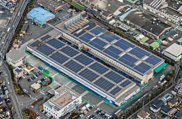 中四国セキスイハイム工業太陽光パネル