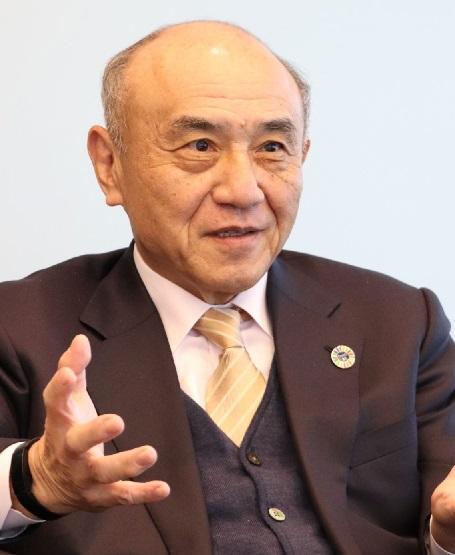 三菱ケミカル 越智会長
