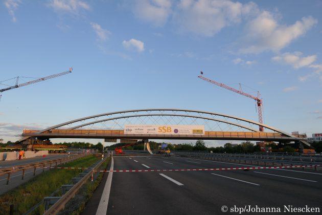 帝人の炭素繊維が採用されたシュタットバーン橋①