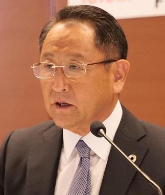 豊田章男社長