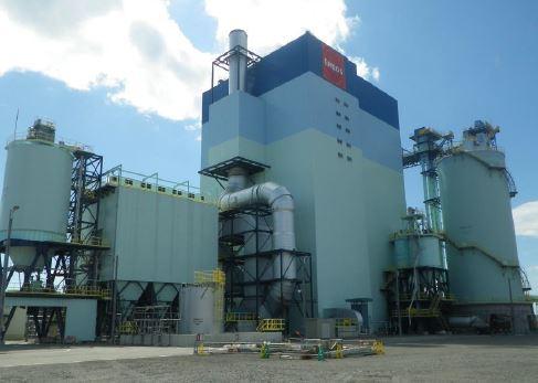 室蘭バイオマス発電所発電設備