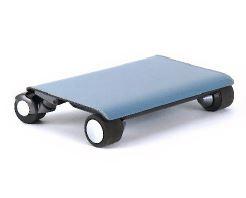 炭素繊維とPC樹脂を採用した携帯できる車「WALKCAR」