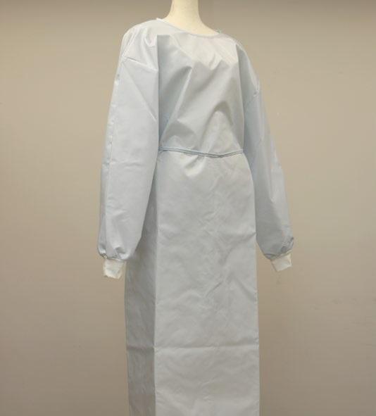 エアバッグ用基布を活用した防護服