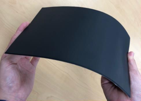 EV向け非接触給電システム用厚膜超大判フレキシブルフェライトシート