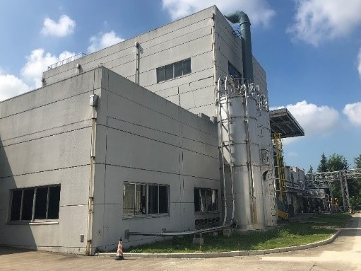 PPコンパウンドを生産する無錫工場。中国で5拠点目