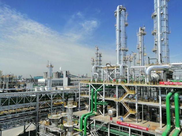 中国・山西沃能化工科技のEGプラント。ハイケムのSEG技術により副生ガスから年産30万tを製造