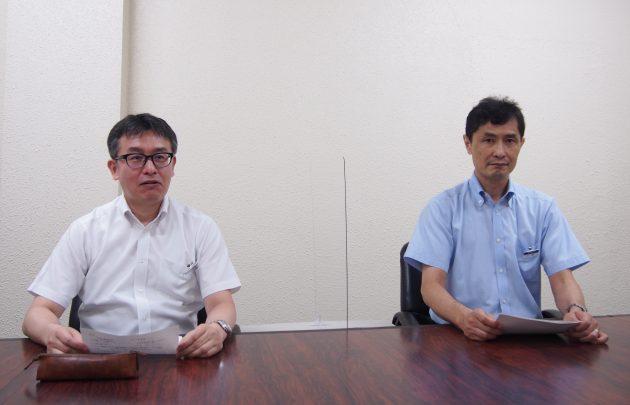 オンライン記者会見 フィルム研究所 長田 俊一所長 大倉 正寿研究主幹
