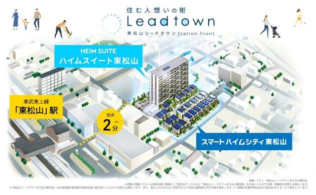 『東松山リードタウン』のイメージ