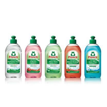 環境負荷低減に配慮した洗剤『フロッシュ』シリーズで参画