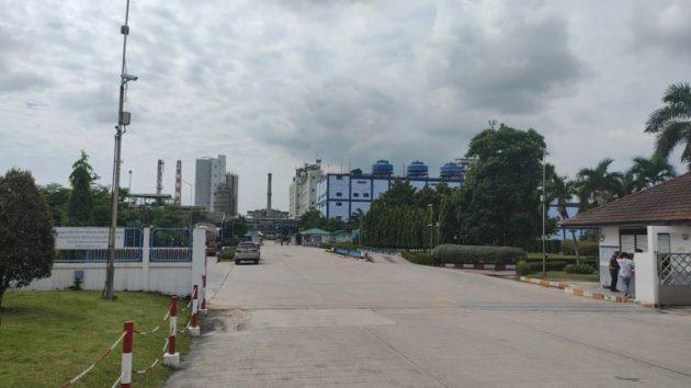エアバッグ原糸生産工場建設地のIPIラヨーン工場