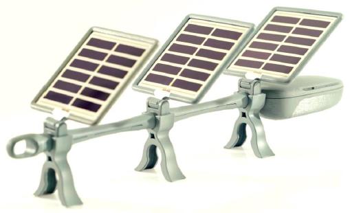 ソーラーカード式デザインデバイス「 LNES SL-02」