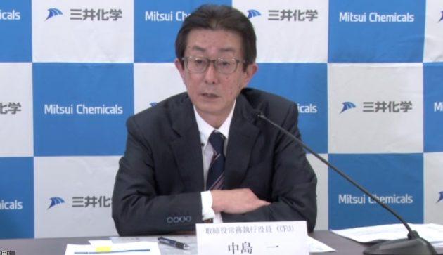 中島取締役常務執行役員CFO