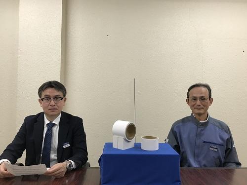 オンライン会見 長田所長・佃研究主幹