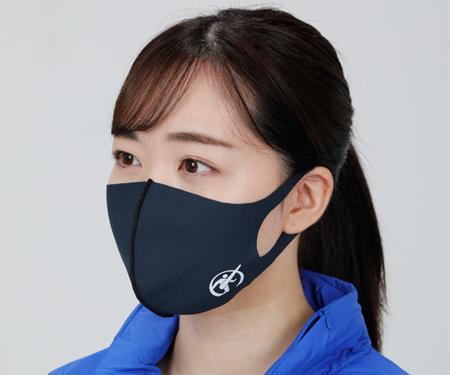 高校サッカーに提供する高機能マスク