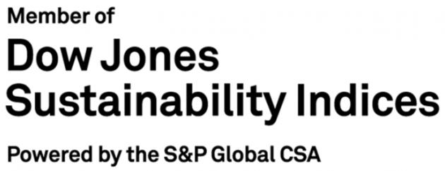 ESG投資指標「DJSI」に選定