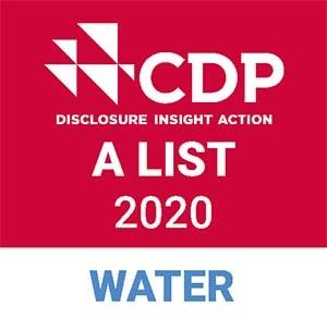 水セキュリティで CDPから 2 年連続で最高評価
