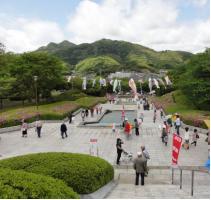 ネーミングライツを取得した永源山公園
