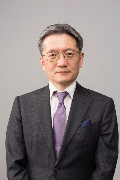 竹内郁夫氏。次期社長に就任する