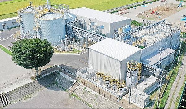 NEFCバイオガス発電プラント全景