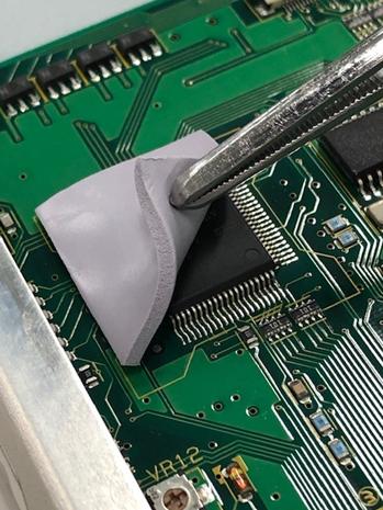 電子デバイスの放熱 シリコーン材料「TC-PEN3タイプ」