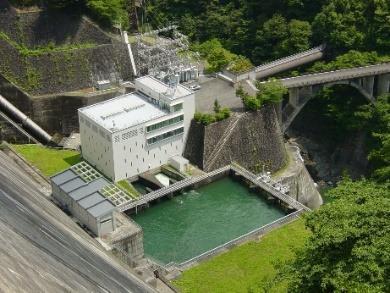水力発電写真 多摩川第一発電所