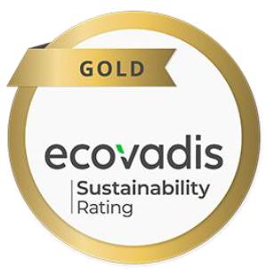 EcoVadis サステナビリティ調査 ゴールド