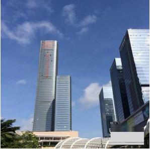 深圳分公司が入居するビル