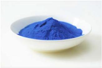 ⾷⽤藍藻スピルリナから抽出した「フィコシアニン」