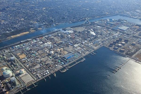 三井化学大阪工場の全景